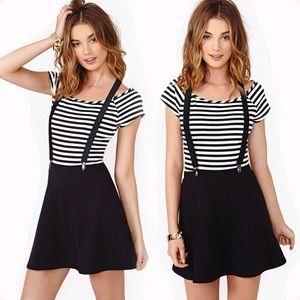🥁 ROLL CALL suspender skirt 💣NASTYGAL